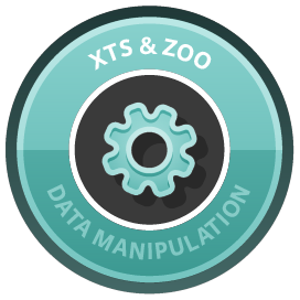 Manipulating Time Series Data in R with xts & zoo