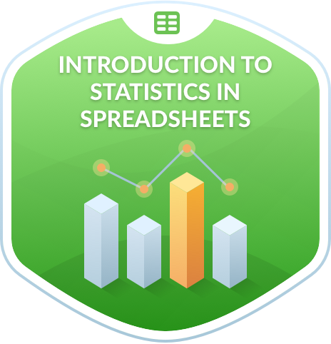 Introduction to Statistics in Spreadsheets