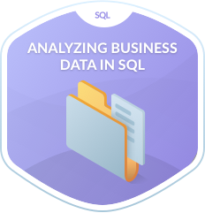 Analyzing Business Data in SQL