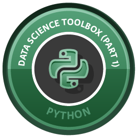 Python Data Science Toolbox (Part 1)