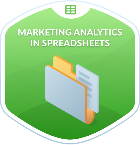 Marketing Analytics in Spreadsheets