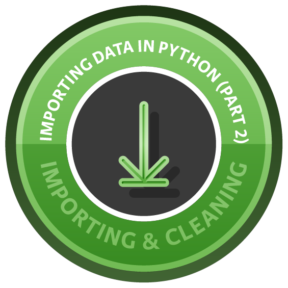 Importing Data in Python (Part 2)