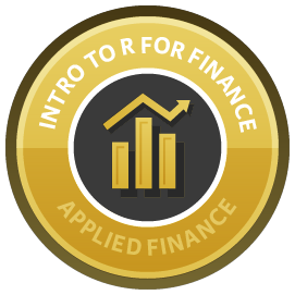 Introduction to R for Finance