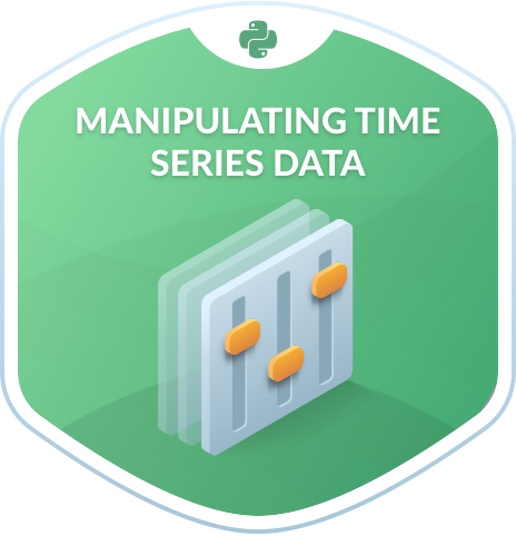 Manipulating Time Series Data in Python