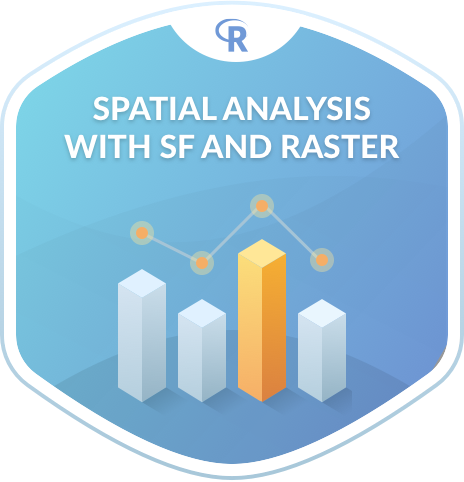 Spatial Analysis in R with sf and raster