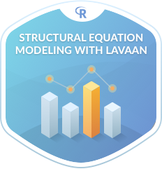 Structural Equation Modeling with lavaan in R