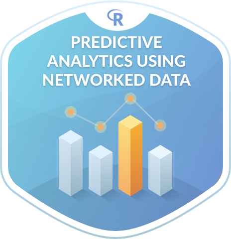 Predictive Analytics using Networked Data in R