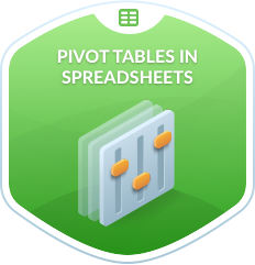 Pivot Tables in Spreadsheets
