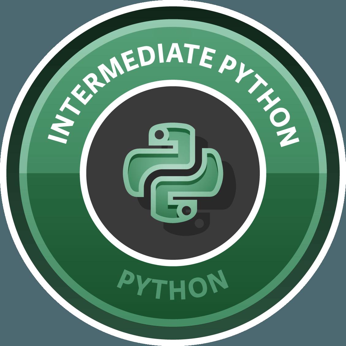 Intermediate Python for Data Science
