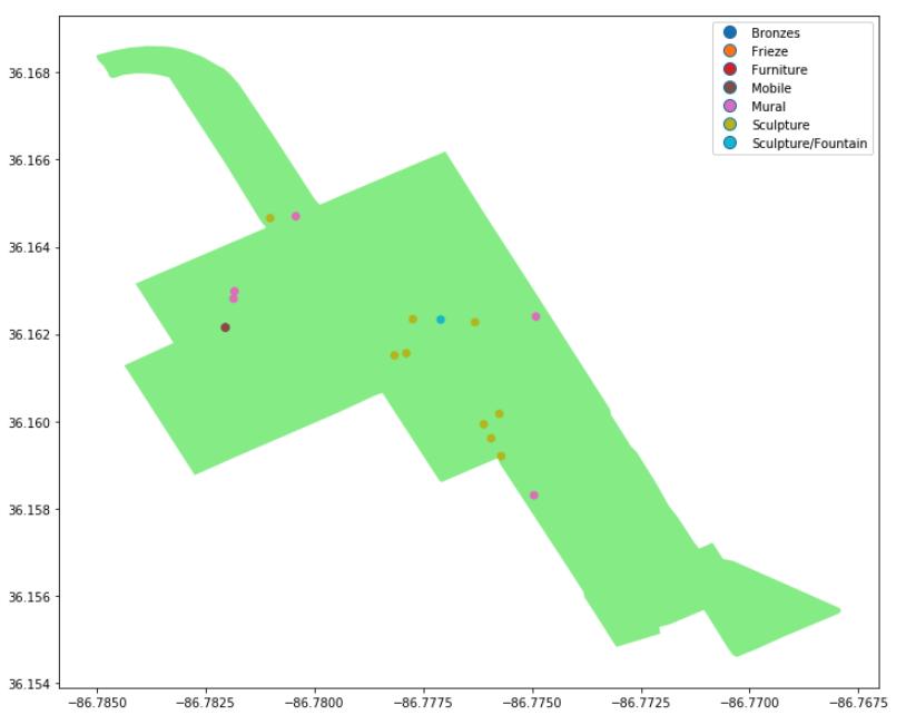 Street maps with folium   Python