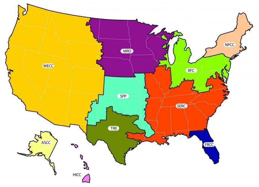 nerc_region map