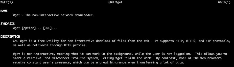 Downloading data using Wget | Shell