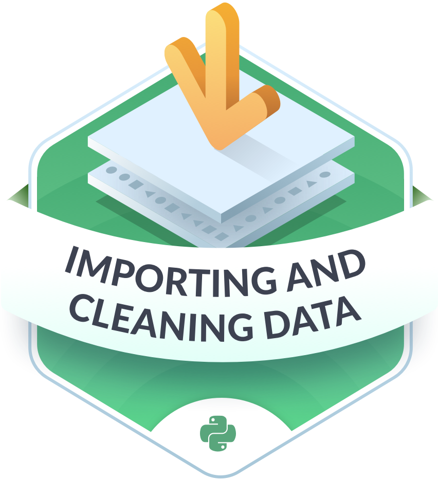 Importing and cleaning data 2x