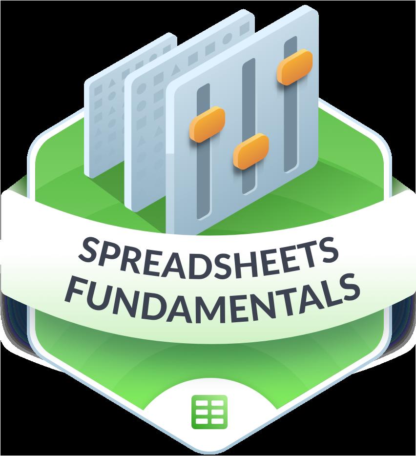 Spreadsheets fundamentals 2x